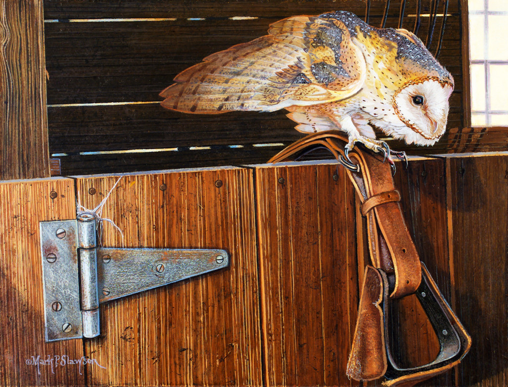 Mark Slawson Barn Owl Stirrup