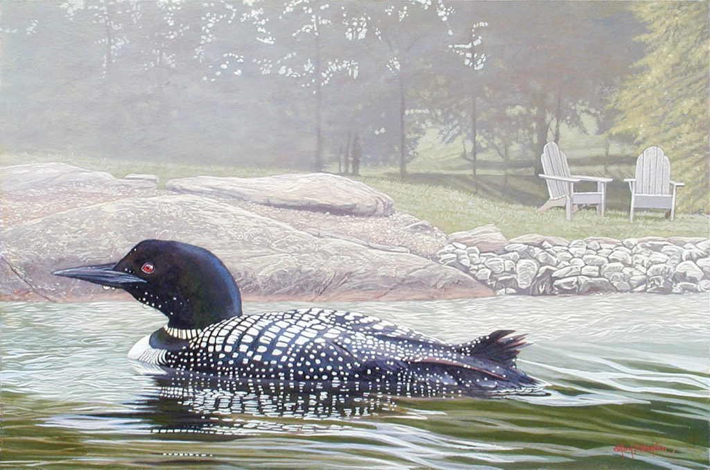 loon painting